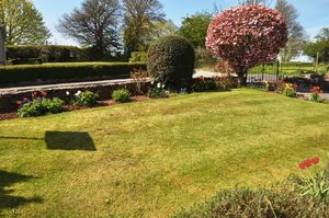 Front garden view- click for photo gallery